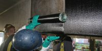 piles protection carbon fibre repair corrosion protection  concrete repair beyond materials group